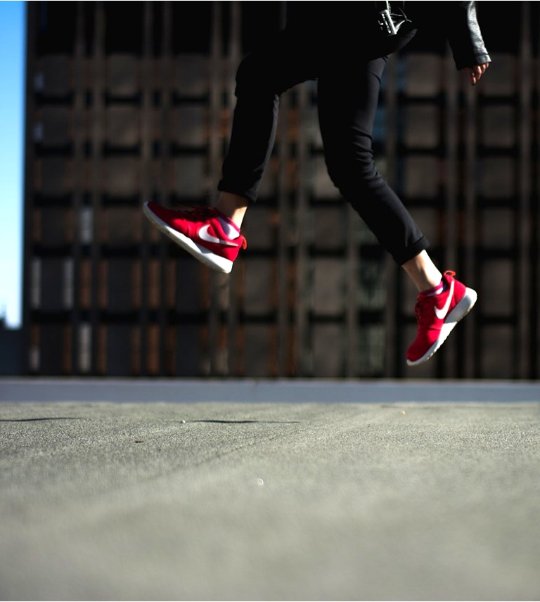 Making Changes Today Red Shoes